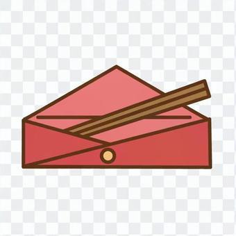 My chopsticks (red)