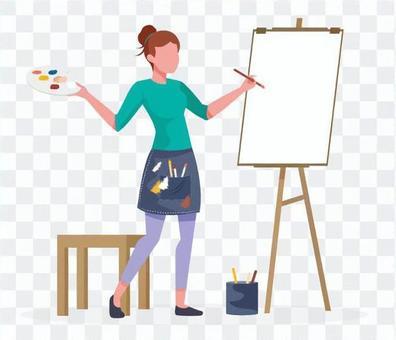 畫家的女人