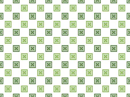 背景圖案14_tile圖案/綠色