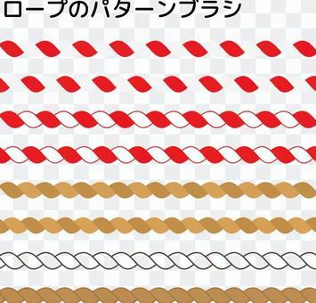 Hatsumako _ rope pattern brush