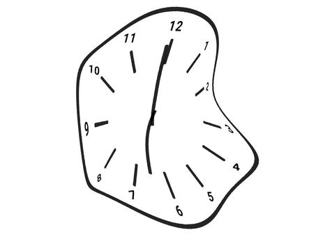 扭曲的時鐘