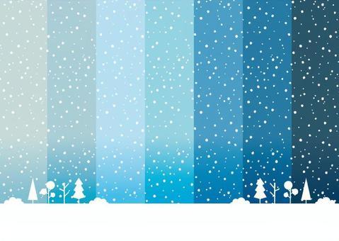 冬天背景樣式1雪點