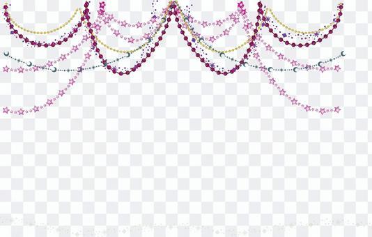 Chandelier style frame decoration 3