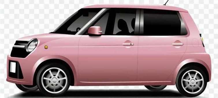 輕型車(粉紅色)