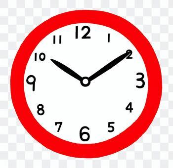 10時10分を指す時計2
