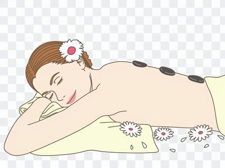 美容按摩/熱石療法