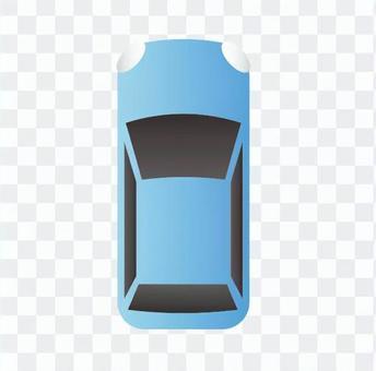 汽车(蓝)