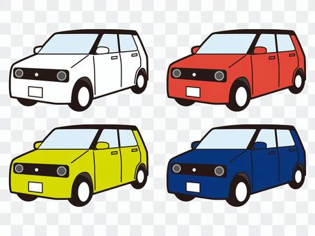 小型車 小型車 汽車