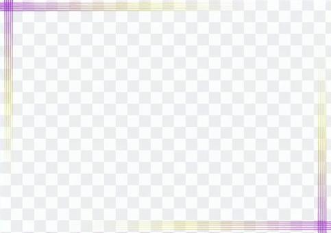 "Frame ""Simple iridescent line"" -1"