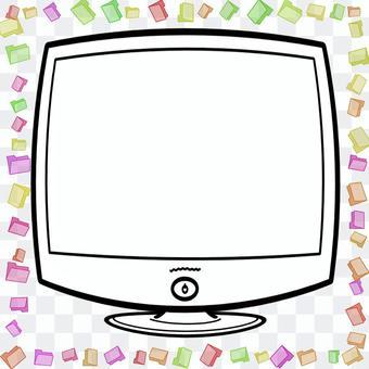 PC顯示器框架