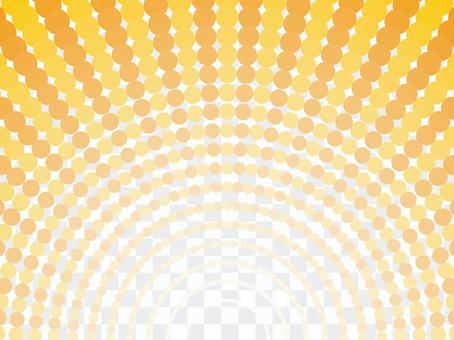 虛線圓點背景(14)徑向橙色