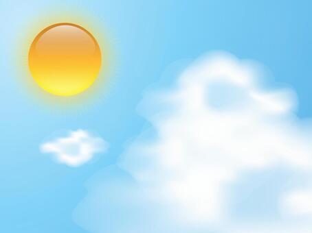 太陽和冰雲