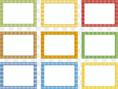 格子框架各種格子