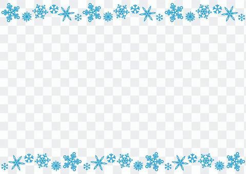 Snow frame 1