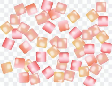 清洁玻璃糖果