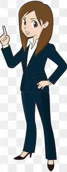 Female businessmen who can do ②