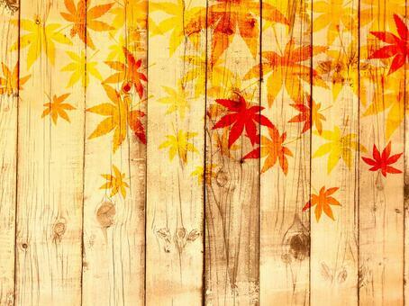 木紋秋葉背景160827