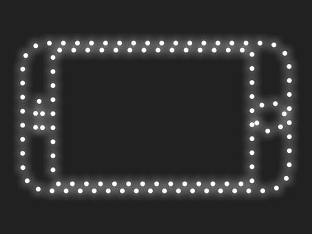 智能手機照明圖標材質:白色