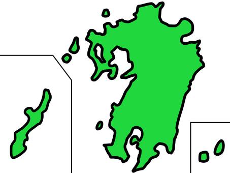 松九州/沖繩地圖