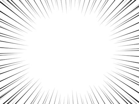 白底集中線黑色