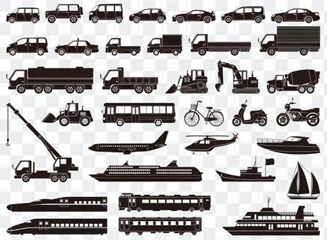 車輛圖標集