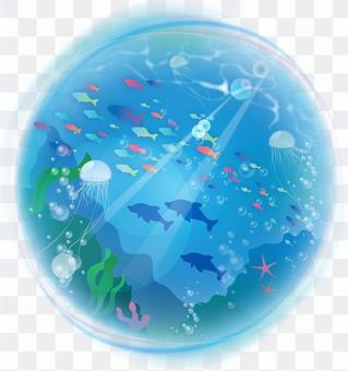 海中のイメージ
