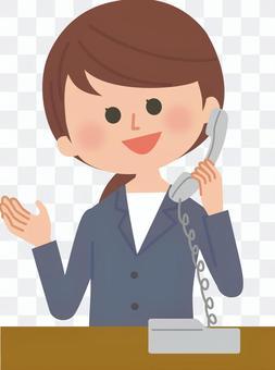 上班族電話