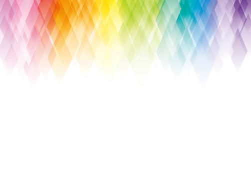 虹色のフレーム04
