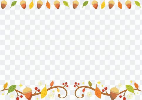 Fall illustration of plants