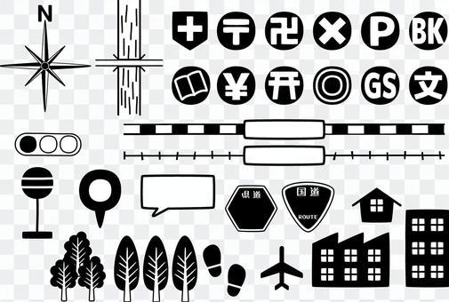 地圖材料6 /類型g / uta