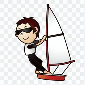 帆船運動員