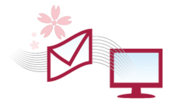 E-mail passed to PC