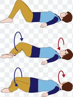膝蓋傾斜鍛煉