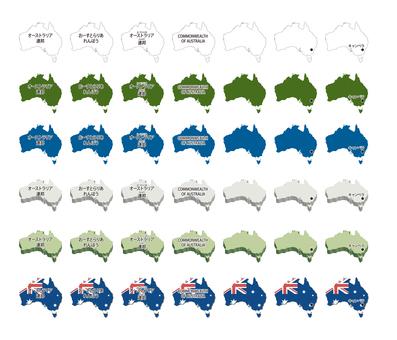 澳大利亞-插圖集