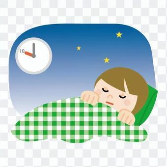 早睡婦女2