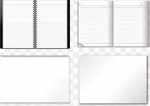 Writing utensils (notes) set