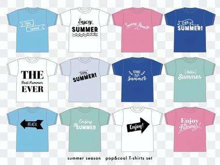 夏のTシャツ素材