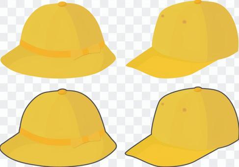 男士女生的學校帽子