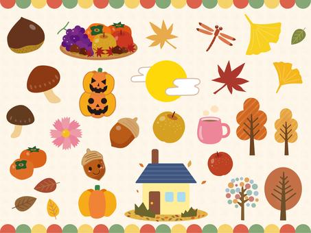 Simple autumn set