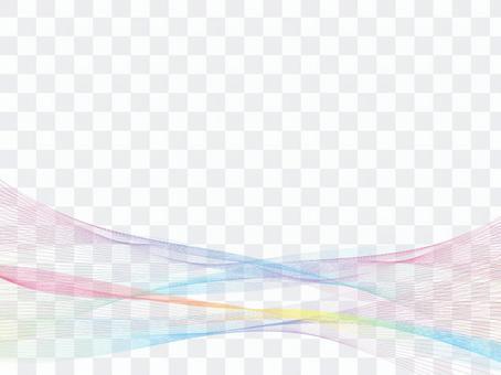 Pastel waveline fashionable background