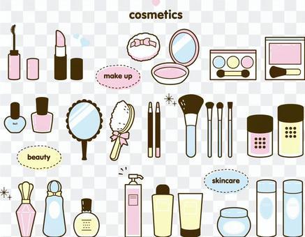 各種化妝品套裝
