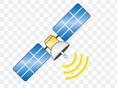 衛星(GPS)的顏色