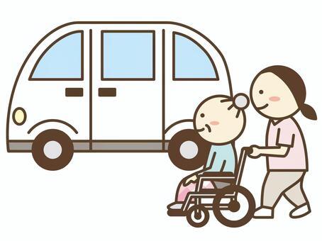 接送司機/接送人員/護理出租車