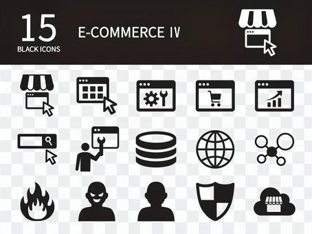 電子商務圖標集