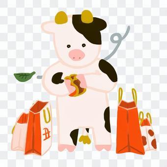 我在第一次銷售中買了太多的牛福袋虧了錢