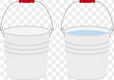 Long ago, a bucket that was in elementary school