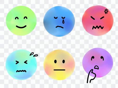 各種面部表情2
