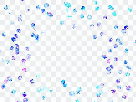 Crystal flap