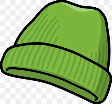 針織帽1(綠色)