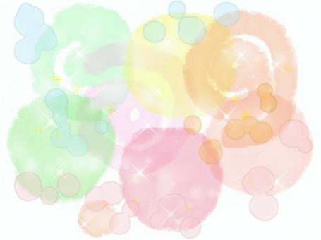 水彩畫的彩色背景